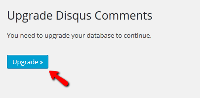 Upgrading your Database for Disqus