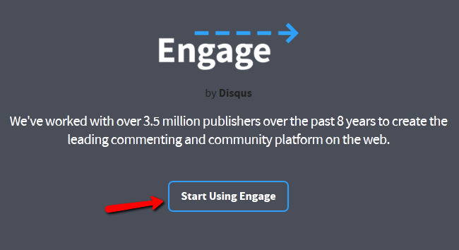 Start Using Engage with Disqus