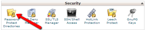 cpanel-password-protect-directories