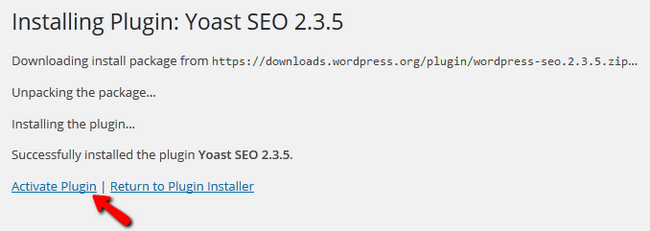 Installing and Activating Yoast SEO