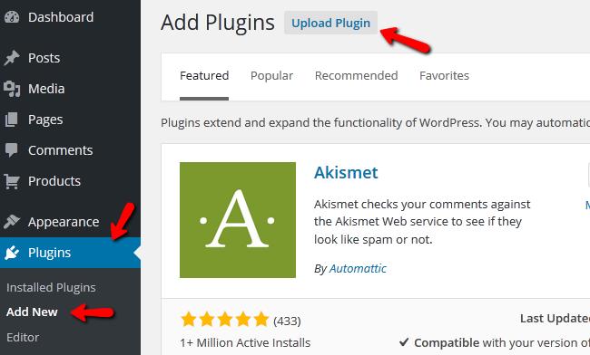 adding a new plugin