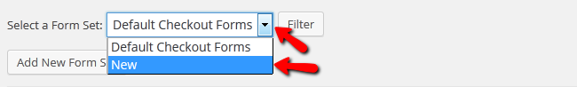 selecting a form set