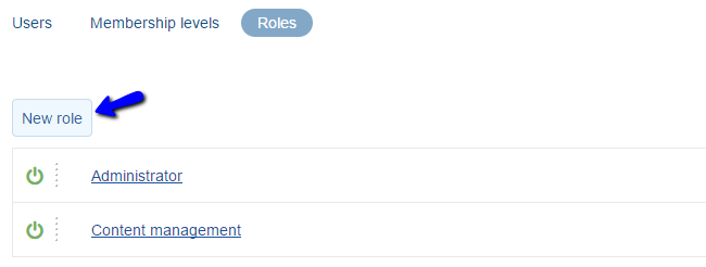 Add new user role in X-Cart